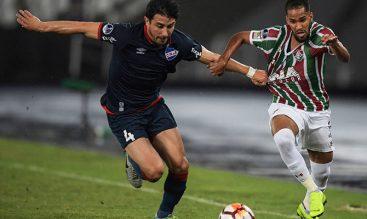 Ajustado lance de vuelta entre el Nacional y el Fluminense