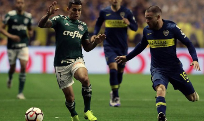 Conoce las cuotas del enfrentamiento de vuelta entre el Palmeiras y el Boca Juniors
