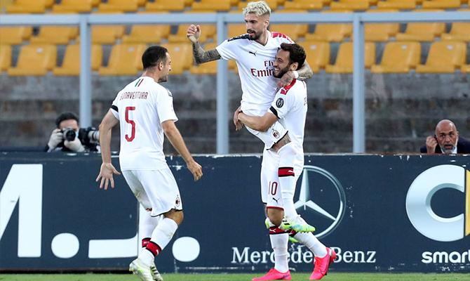 Milan vs Roma - Análisis, cuotas y resultados del partido - 28/06/2020