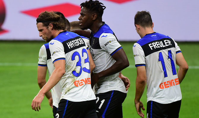 Cuotas del próximo choque entre Atalanta e Inter de Milán