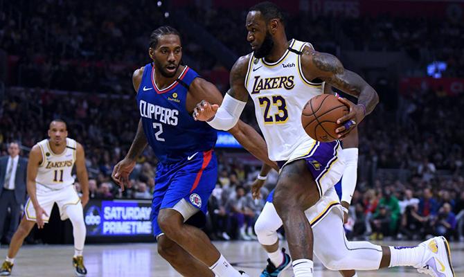 Cuotas del próximo choque entre Lakers y Clippers