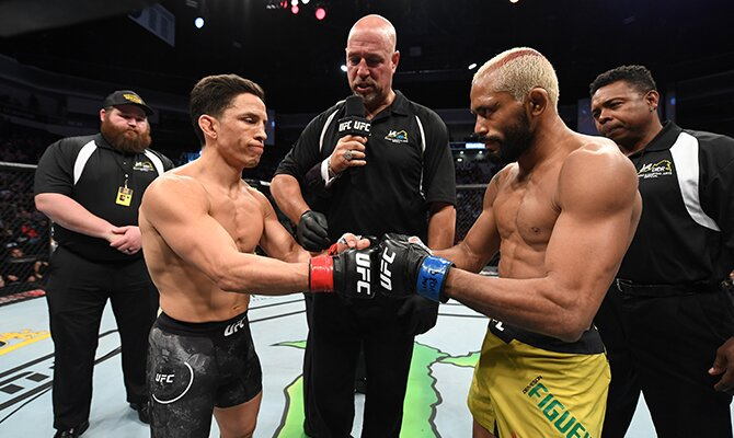 Cuotas para el UFC Fight Night Figueiredo vs Benavidez 2