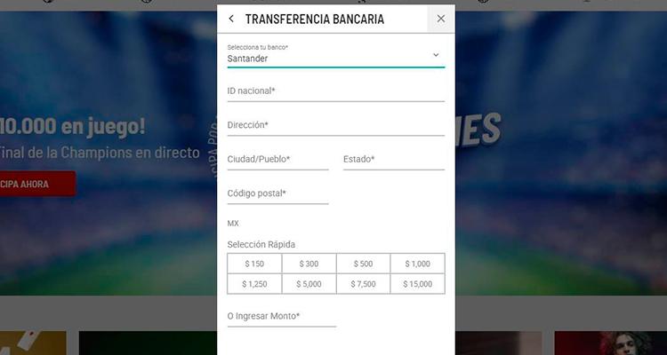 Depósitos con Banco Santander