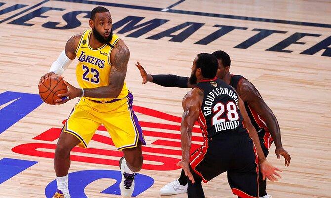 Lakers vs Heat - NBA 2019/2020 - tercer partido de la final