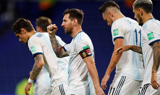 Cuotas del próximo choque entre Argentina y Paraguay, Eliminatorias Qatar 2022