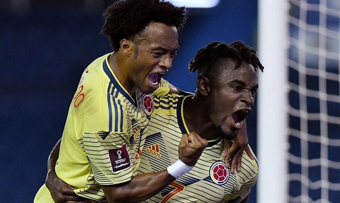 Cuotas del próximo choque entre Colombia vs Uruguay, Eliminatorias Qatar 2022