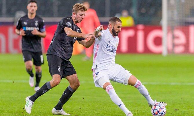 Cuotas del próximo choque entre el Real Madrid y Borussia Monchengladbach, sexta jornada de la fase de grupos de la Champions League