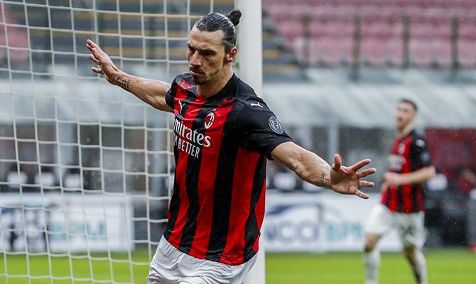 Zlatan Ibrahimovic espera celebrar una nueva victoria en el AC Milan vs Inter de Milán