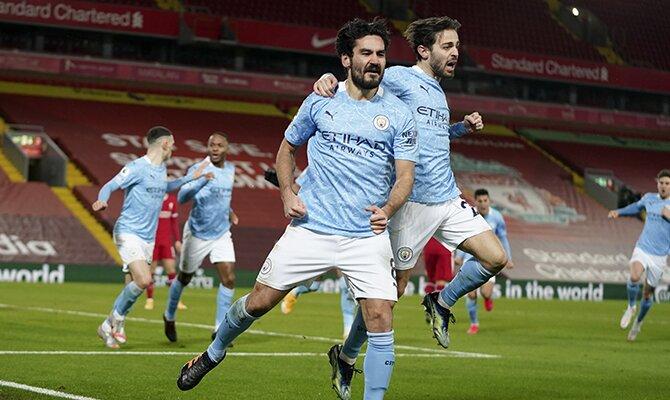 Los jugadores Skyblues esperan seguir celebrando goles en el Manchester City vs Tottenham