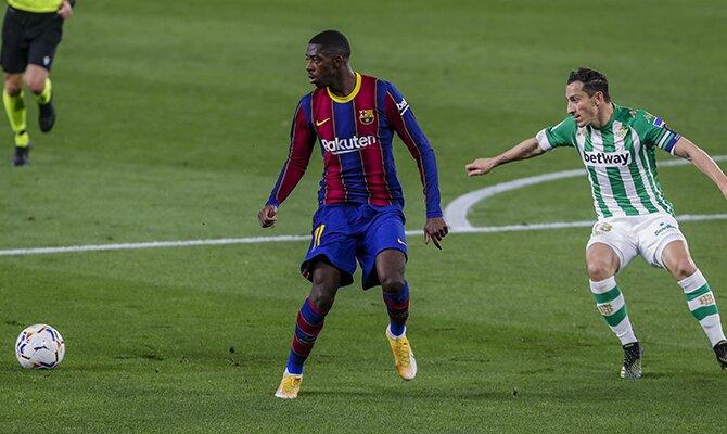 Ousmane Dembélé será uno de los jugadores clave en el Sevilla vs Barcelona de la Copa del Rey